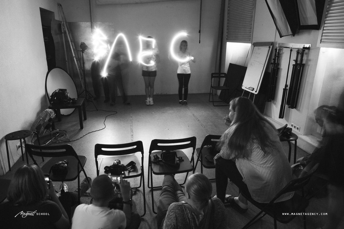 Фото с занятий детского курса