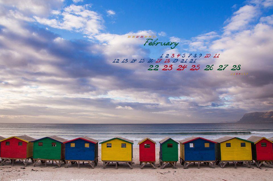 Февральские календари на рабочий стол